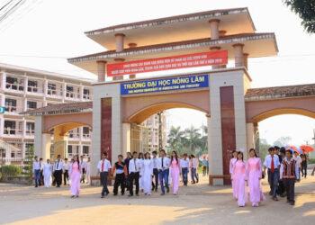 Thông tin tuyển sinh và học phí Đại học Nông Lâm Thái Nguyên năm 2021
