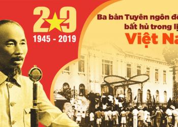 Bình Giảng Tuyên Ngôn Độc Lập của Hồ Chí Minh chuẩn nhất 2021