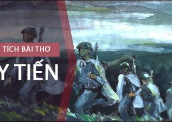 Hình tượng người lính Tây Tiến và Việt Bắc dàn ý chi tiết