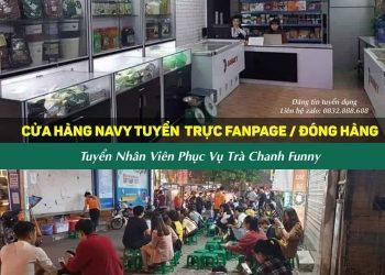 1. Cửa hàng thực phẩm Navy- 202 Đê La Thành nhỏ ( ngay sau 408 Xã Đàn) tuyển