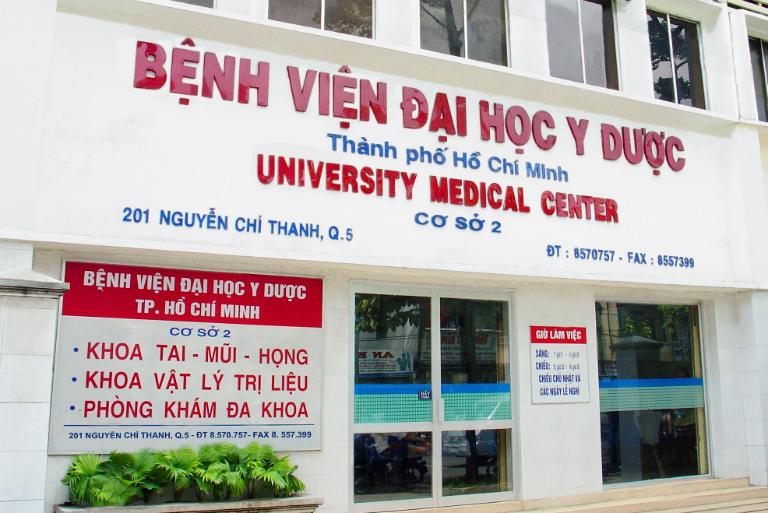 Trường đại học Y Dược thành phố HCM