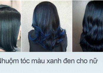 Công thức nhuộm màu xanh đen cho tóc hữu hiệu
