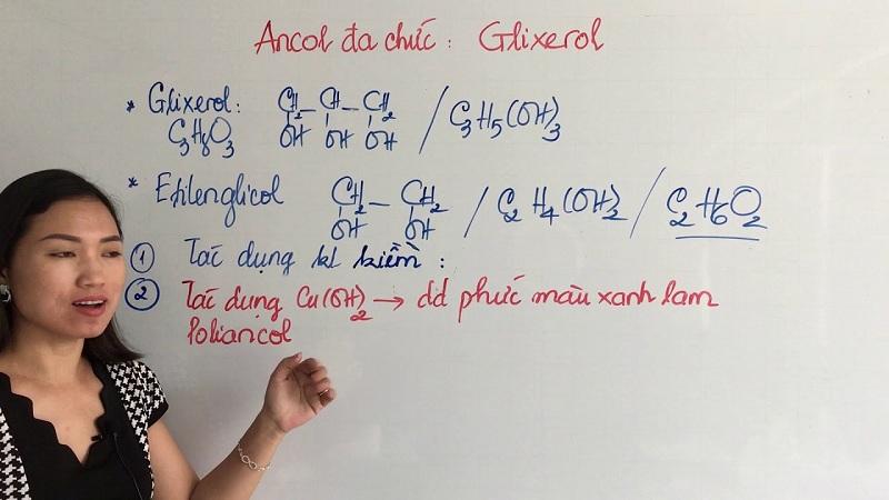 công thức Glixerol