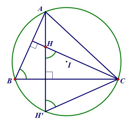 đường tròn ngoại tiếp tam giác