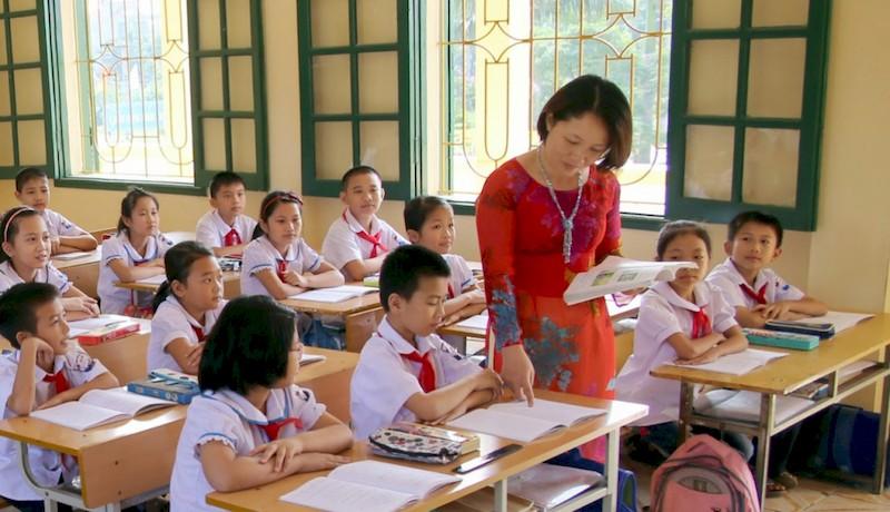 ngành giáo dục tiểu học