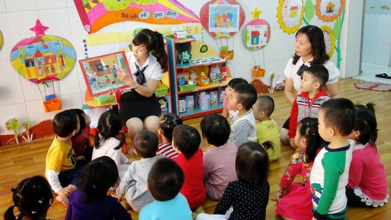 Ngành giáo dục mầm non lựa chọn nghề nghiệp tốt