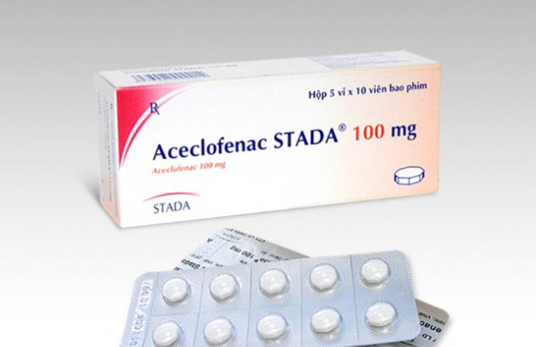 Tác dụngcủa thuốc Aceclofenac