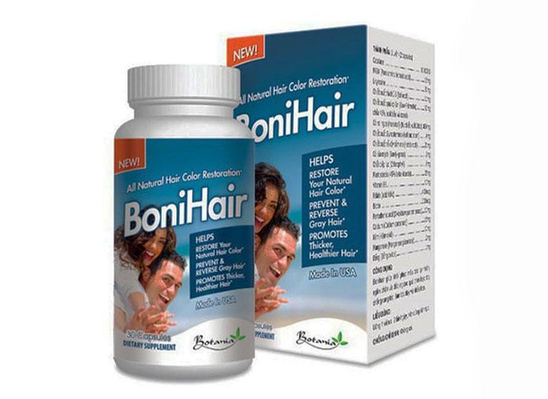 Bonihair trị triệu chứng rụng tóc