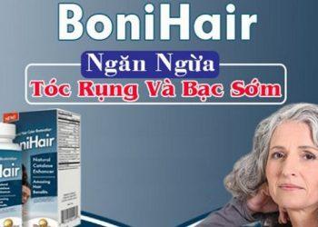 Bonihair trị triệu chứng rụng tóc, bạc sớm rất hiệu quả