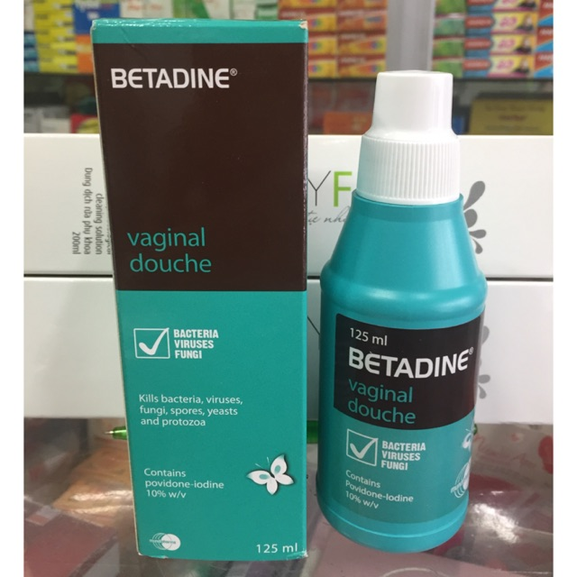 dung dịch Betadine xanh