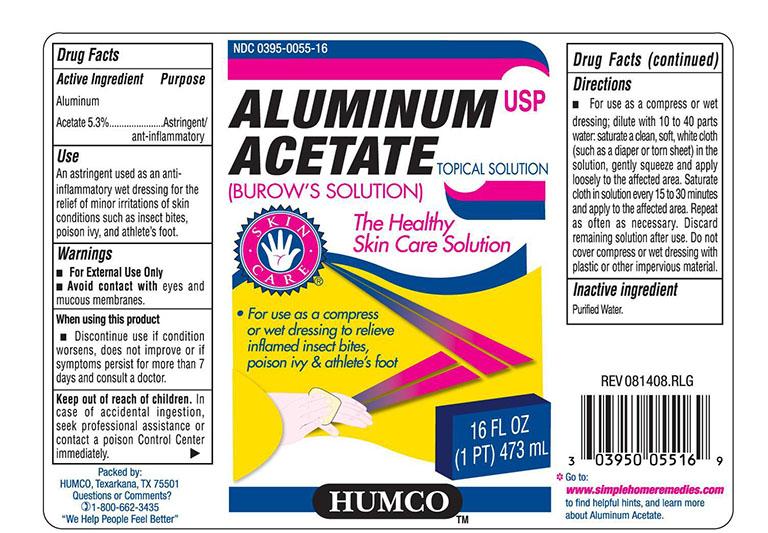 thuốc Aluminium Acetate