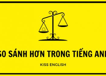 Cách sử dụng công thức so sánh hơn trong Tiếng Anh