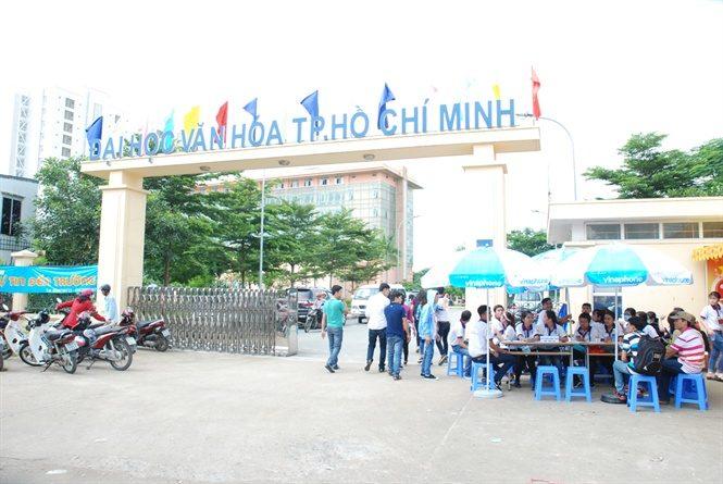 Điểm chuẩn đại học văn hóa TPHCM
