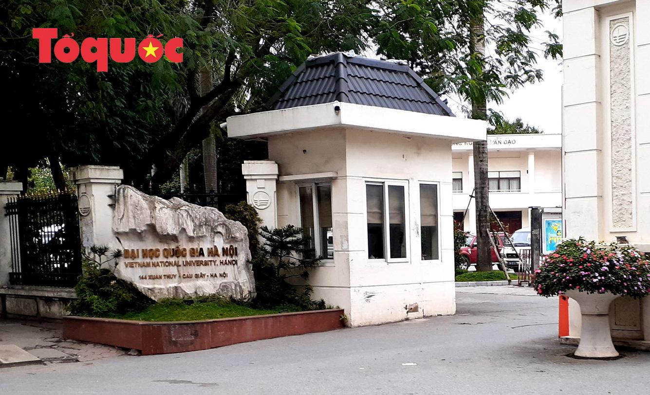 Trường đại học quốc gia Hà Nội ngồi tường đào tạo nhiều ngành học