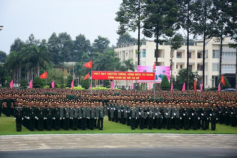 Điểm chuẩn sĩ quan lục quân 2