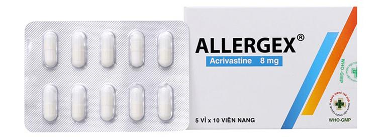 Tìm hiểu thông tin về thuốc Acrivastin