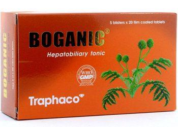 Thuốc bổ gan Boganic: công dụng, liều sử dụng