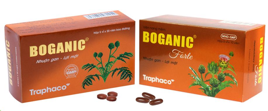 thuốc bổ gan Boganic
