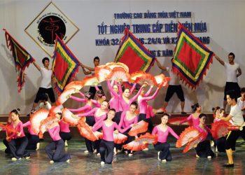 Tuyển sinh trường cao đẳng múa Việt Nam 2021