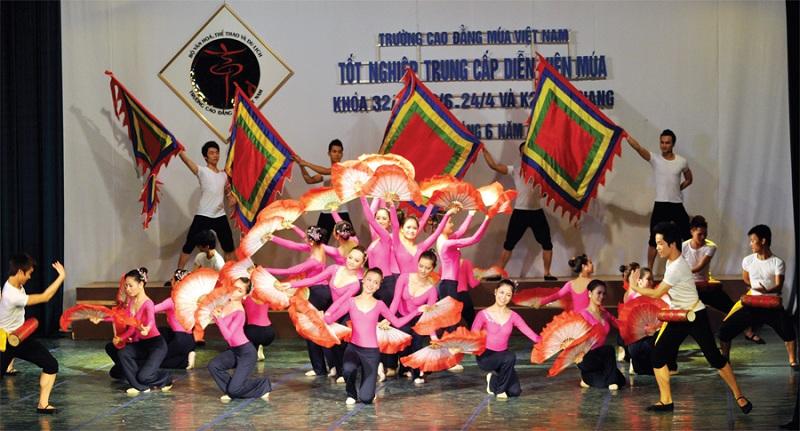 trường cao đẳng múa việt nam