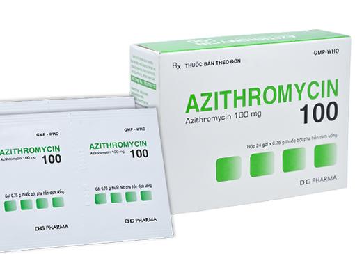 Công dụng thuốc Azithromycin