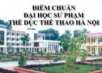 Đại học Sư phạm Thể dục thể thao Hà Nội Điểm chuẩn, học phí 2021