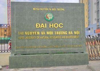 Đại học Tài nguyên và Môi trường Hà Nội tuyển sinh 2021