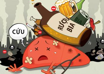 Gan do rượu gây ra những tác động tiêu cực như thế nào?