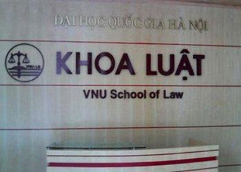 Thông tin tuyển sinh khoa luật đại học quốc gia Hà Nội năm 2021