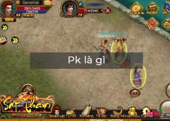 Pk là gì? Ý nghĩa của nó trong chơi game