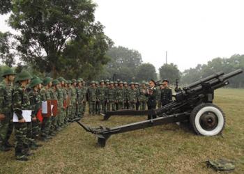 Trường Sĩ quan Pháo binh tuyển sinh năm 2021