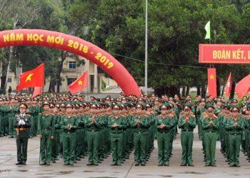 Trường Sĩ quan Lục quân 1: Điểm chuẩn, học phí 2021(LAH)