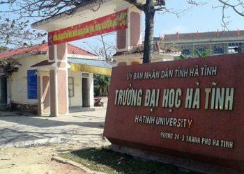 Trường Đại Học Hà Tĩnh tuyển sinh 2021