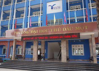 Thông tin Tuyển sinh Đại học Thủ Dầu Một năm 2021