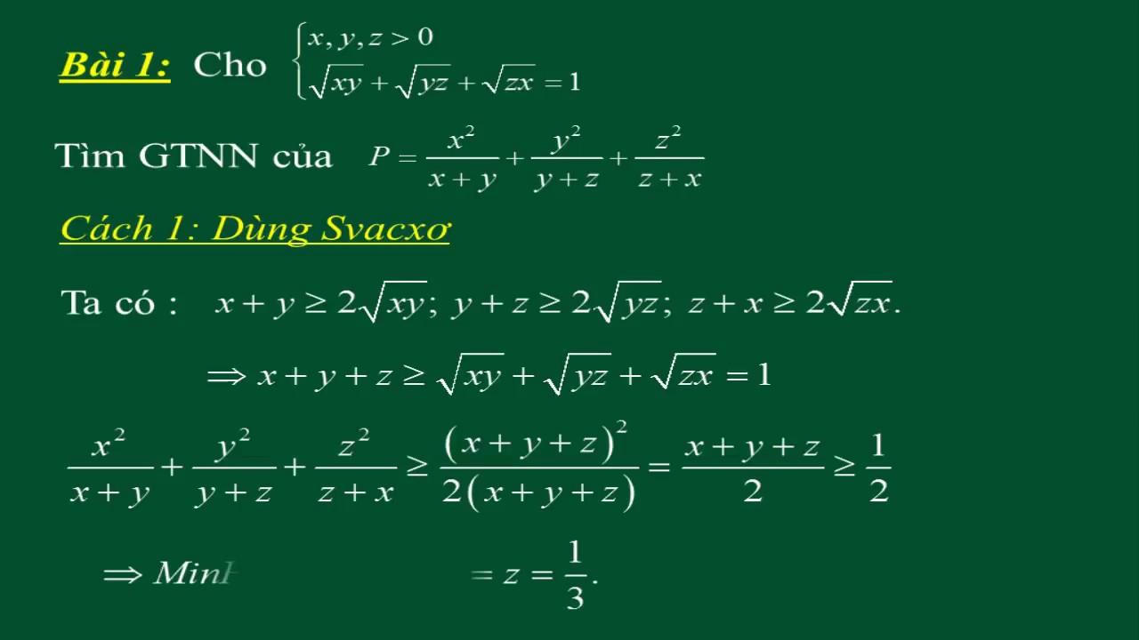 Bất đẳng thức phức hợp là gì?