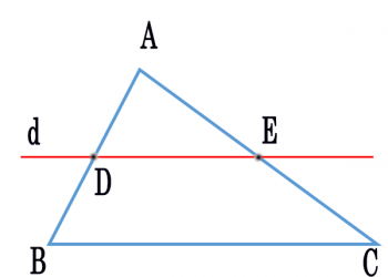 Định lý talet dễ học – Giải thích & Ví dụ thực tế