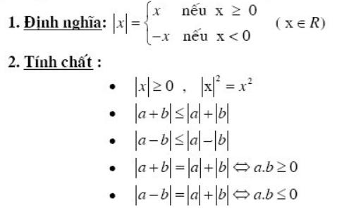 Giá trị tuyệt đối trong toán học