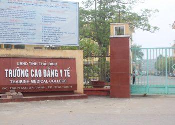 Tuyển sinh trường cao đẳng y tế Thái Bình năm 2021