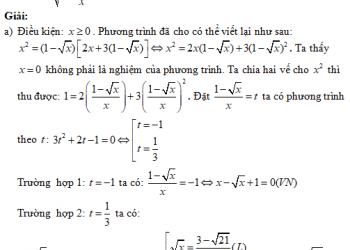 Giải một biến trong một công thức – Phương trình chữ ai cũng học được