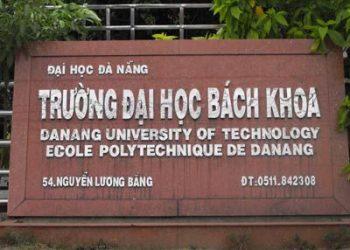 tuyển sinh trường Đại học Bách Khoa Đại học Đà Nẵng Năm 2021
