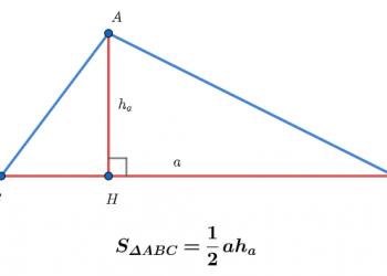 Diện tích tam giác – Giải thích và ví dụ chi tiết dễ hiểu nhất