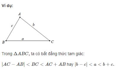 Định lý Bất đẳng thức Tam giác là gì?