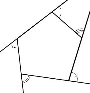 Góc ngoại thất của đa giác