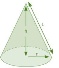 Khối lượng hình nón được tính như nào? Công thức tính dễ hiểu nhất