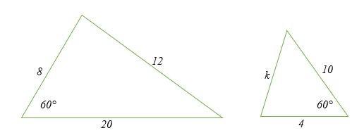 Kiểm tra xem các tam giác sau có đồng dạng không