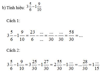 Làm thế nào để cộng các hỗn số có mẫu số không giống nhau?
