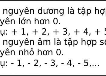 Học ngay cách cộng và trừ số nguyên đơn giản nhất hiện nay