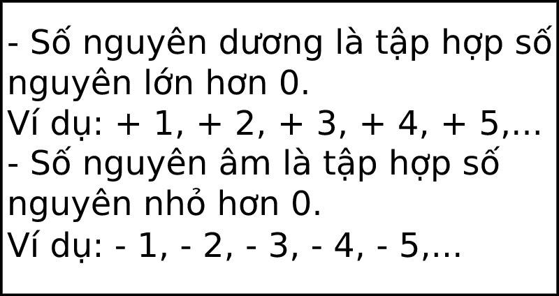 Làm thế nào để trừ số nguyên?