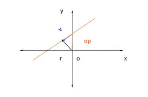 Phương trình vectơ của một đường thẳng