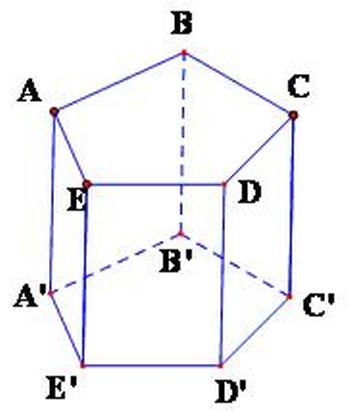 Thể tích của lăng trụ lục giác